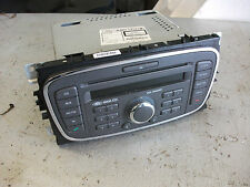 FORD FOCUS 07 to 11 /  6000 STEREO CD UNIT WITH CODE   / C MAX