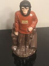 1974 PLANET OF THE APES GALEN HARD PLASTIC BLOW MOLD BANK (Original Stopper)