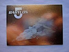 1995 FLEER ULTRA BABYLON 5 *HOLOGRAM* CHASE CARD 5 OF 8 **RARE**