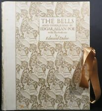 Edgar Allan Poe / The Bells And Other Poems Signed 1912