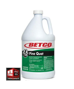 New, Betco Pine Quat Cleaner Deodorant, 1 Gallon (B5.2MG1)