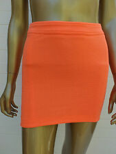 BARDOT ORANGE MINI DRESS SKIRT 34 2 6 XS
