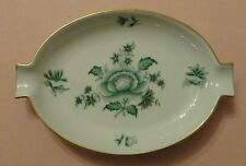 HEREND China NIANG NANKING BOUQUET Green PEONY Vintage Porcelain ASHTRAY Trinket