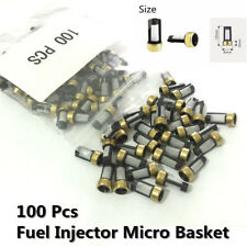 100x Fuel Injector Micro Basket Filter Universal for ASNU03C Injector repair kit