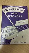 Michael Aaron: libro de curso de piano para adultos 2: puntuación de música (L3)