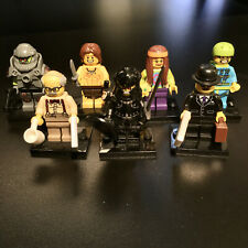 LEGO Minifigures Lot of 7 Complete with Stands