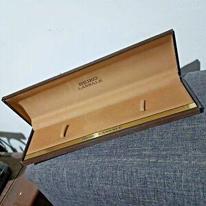 Vintage Seiko Lassale Watch Box