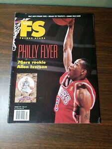 Allen Iverson Beckett Future Stars February 1997 - 76ers Rookie Philly Flyer