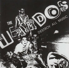 WEIRDOS Destroy All Music - 30th Anniversary Edition w booklet + liner notes CD