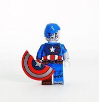 **New** DRAGON BRICK Custom Zombie Captain Lego Minifigure