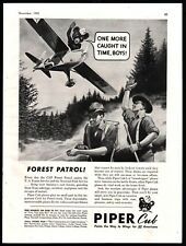 1943 PIPER CUB Civil Air Patrol CAP Forest Patrol Aircraft Aviation AD