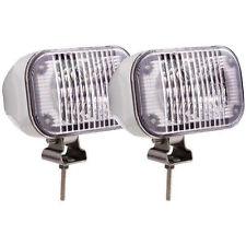 2 - OPTRONICS DLL50WC LED MARINE/BOAT DOCKING & UTILITY LIGHTS WHITE HOUSING^^ZB