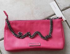 süße Handtasche neonpink mit Kette ESPRIT NEU