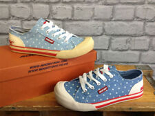 Polka Dot Plimsoll Trainers for Women