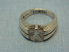 925er Silberring LUMANI Ringgroße 51,5 Ringkopf breit 8,4mm Gewicht 4,6 gramm