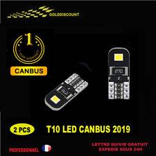 kit 2  t10 led w5w canbus anti erreur 2 smd blanc 6000k  - 12v new 2019 /