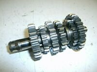 SUZUKI RM 85 GEARBOX COUNTER SHAFT 2008 BIG WHEEL (MAY FIT OTHER YEARS)