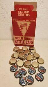 Gold Bond Bottle Caps Cork Lined Home Brewing Bottling New Unused Stock