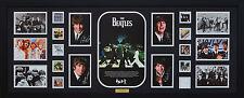 The Beatles Limited Edition Signed Framed Memorabilia Black