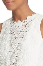 Rebecca Taylor Sleeveless Dia Lace Top  ( Size 6)