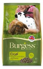 Burgess Excel Adult Rabbit Nuggets With MINT 10kg FP10005J