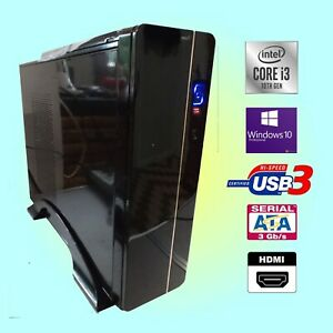 10th Generation Intel® Core™ i3-10100 3.6Ghz PC Computer 8Gb 1Tb HD, Win 11 Pro