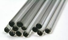 5 x GLASS STIRRING ROD, ø6 x 200mm borosilicate **Quality** DURAN®