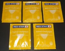 5 Packs Red Star Premier Blanc (Formerly Pasteur Champagne) Yeast Free Shipping