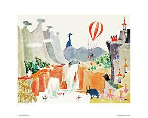 Moomin Poster Moominpappa Memoirs 24 x 30 cm Putinki