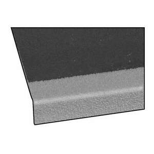 FIBERGRATE 879500 Stair Tread Cover,Gray,48in W,Polyester