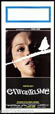 ENFANTASME LOCANDINA CINEMA GOBBI BELLI THRILLER 1978 L'ENFANT DE NUIT AFFICHE