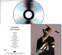 PLAITUM CONSTRAINT 2017 UK 12-trk promo test CD