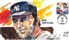 WILD HORSE HD HP NEW YORK YANKEE JOE PEPITONE ARTIST PROOF RARE 1/1  Sc 3182n