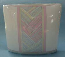 ROSENTHAL Op-Art NAIRAC Abstract Modern Design PILLOW Porcelain VASE Kissenvase