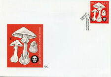 Estonia 2012 FDC Poisonous Mushrooms Destroying Angel 1v Set Cover Fungi Stamps
