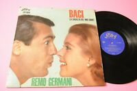 REMO GERMANI LP BACI ORIGINALE JOLLY 1963