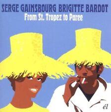 Gainsbourg, Serge & Brigitte Bardot-from St. Tropez to venues CD Nouveau neuf dans sa boîte