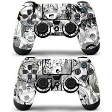 2 Pack PS4 Controller Dualshock Skin Ahegao Sexy Girls Anime Vinyl Decals Wrap
