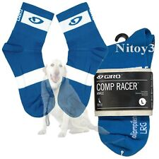 Giro Comp Racer Cycling Ankle Socks - Lightweight Unisex Large