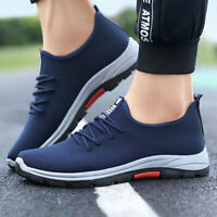 Men's Fashion Tennis Running Sneakers Casual Walking Breathable Athletic Shoes