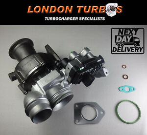 Turbocharger BMW 120d 320d 520d X1 X3 GT 2.0 163/184BHP 49335-00584 Turbo+Gasket