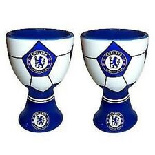 2 x Chelsea Football Egg Cups - Official Chelsea Egg Cups - Ideal Football Gift