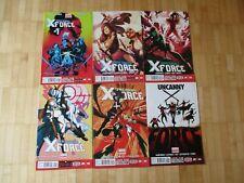 Uncanny X-Force 1,2,3,4,5,6  US Marvel  2013