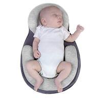 Baby Safe Cotton Anti Roll Pillow Sleep Flat Head Bedding Mattress