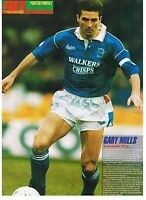 90 Minutes football magazine A4 player picture poster Leicester City - VARIOUS