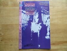 1992 DC SANDMAN MYSTERY THEATRE # 2 SIGNED BY MATT WAGNER, WITH POA