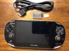 Sony PS Vita CFW 3.60 Henkaku Enso 128gb sd2vita OLED PCH-1000 hacked