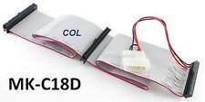 "18"" 2-Drive IDE 44-Pin Laptop & 40-Pin Desktop Hard Drive Cable w/ Molex Power"