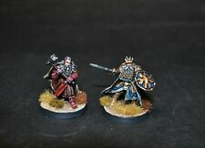 Warhammer lotr Middle Earth Thror and Thrain painted