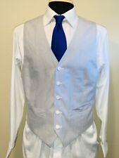 Superb Jos A Bank Seersucker Vest Waist Coat Sz 40